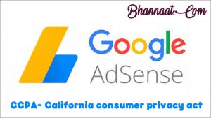 Google Adsense California Consumer