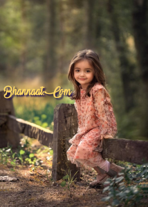 Cute baby girl face photo