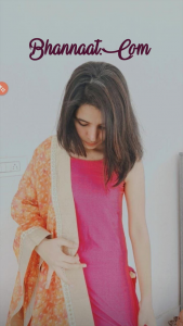 Cute shy indian girl pose fb photo
